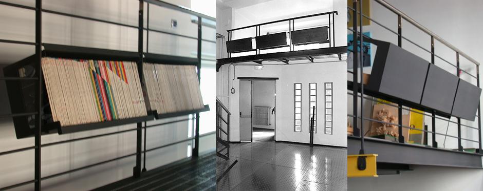 libreria balaustra